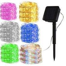 3 цвета светодиодный солнечный садовый светильник s наружный декоративный медный праздничный наружный светодиодный светильник