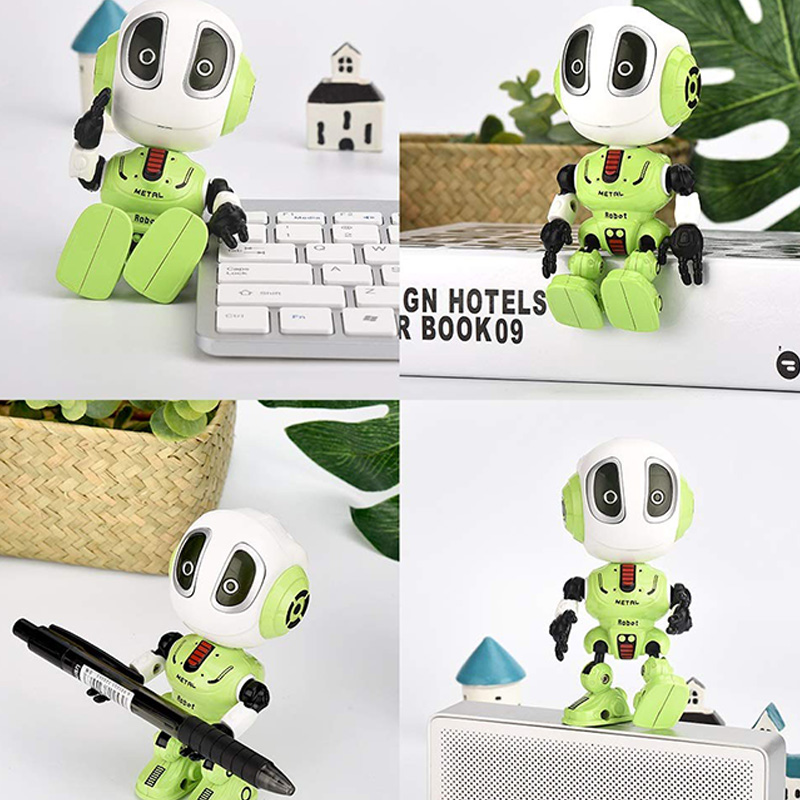 Mini Robotic Toys With LED Eyes Contact Control Best Birthday Gifts for 3 Year Child 3
