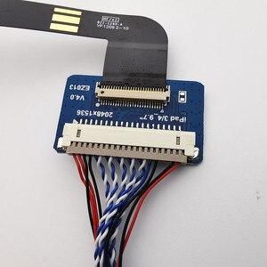 Image 5 - 4K HDMI LVDS בקר לוח עבור iPad 3 4 9.7 LP097QX1 SPA1 SPAV SPC1 2048x1536 EDP אות 4 נתיבים 51 סיכות LCD תצוגת לוח