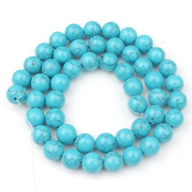 4/6/8/10/12mm Natural Turquoises Bead 2