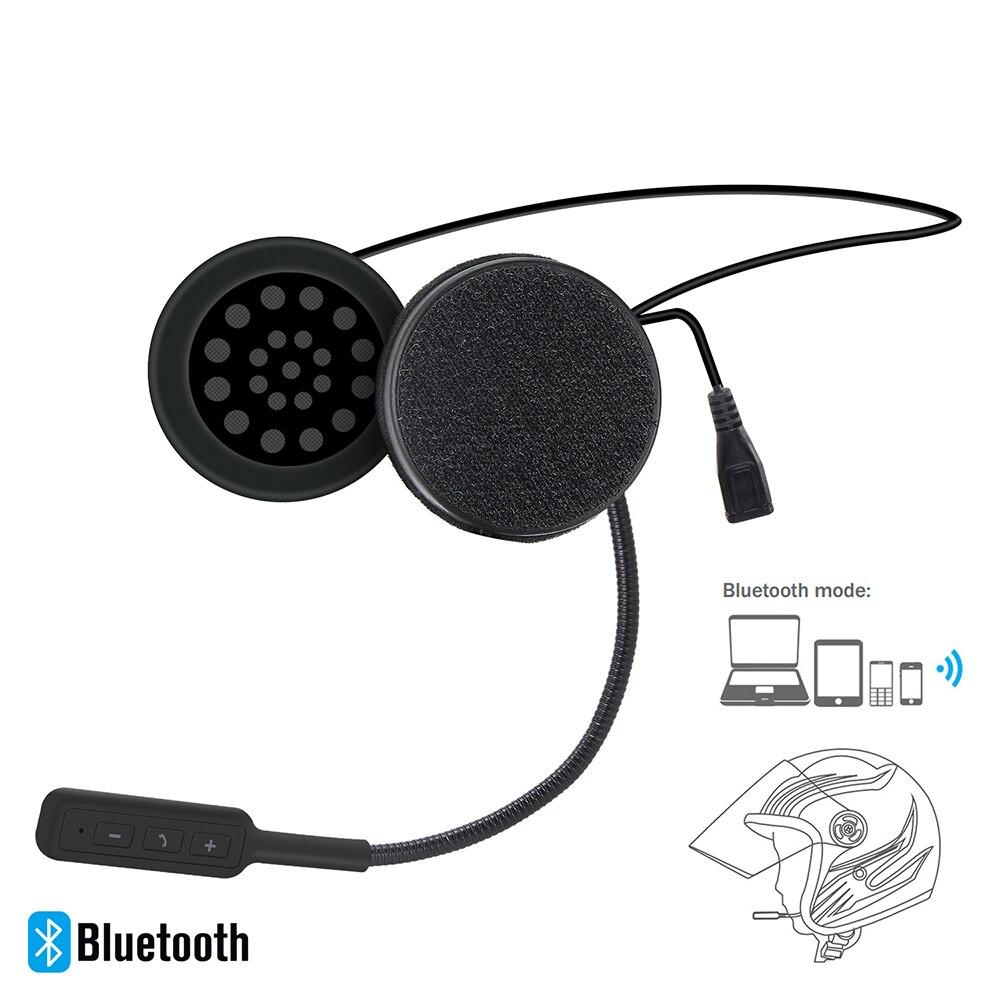 Motorcycle Helmet Headset Wireless Bluetooth Headphone Speaker Handsfree Music Automatic Call Answer Hands-Free BT-09