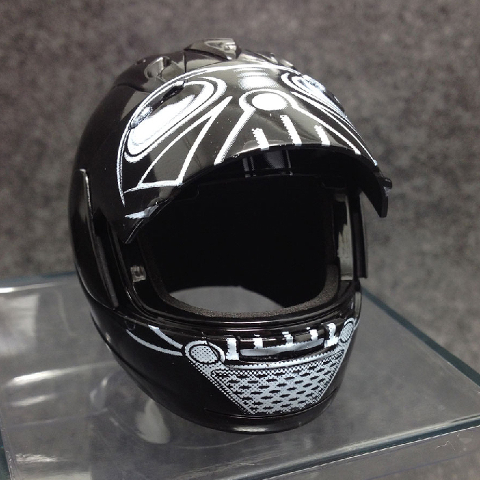 1:6 ZYTOYS ZY3014 Motorcycle Helmet Model Toy Fit 12/'/' Action Figure Doll