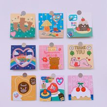 Ins Nette Liebe Kuchen Bär Cartoon Foto Karte Hand Konto Album Dekoration Postkarte Aufkleber Umschlag Geschenk Aufkleber Scrapbooking