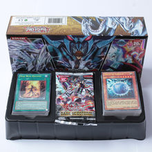 100 pieces no repeat cartoon YU GI oh play card card collection boys Duel Monsters board role-playing games paper cards fantasy(China)