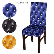 3D printed Dining chair cover kitchen chair covers chair covers for weddings chair covers for dining chairs wedding chair cover