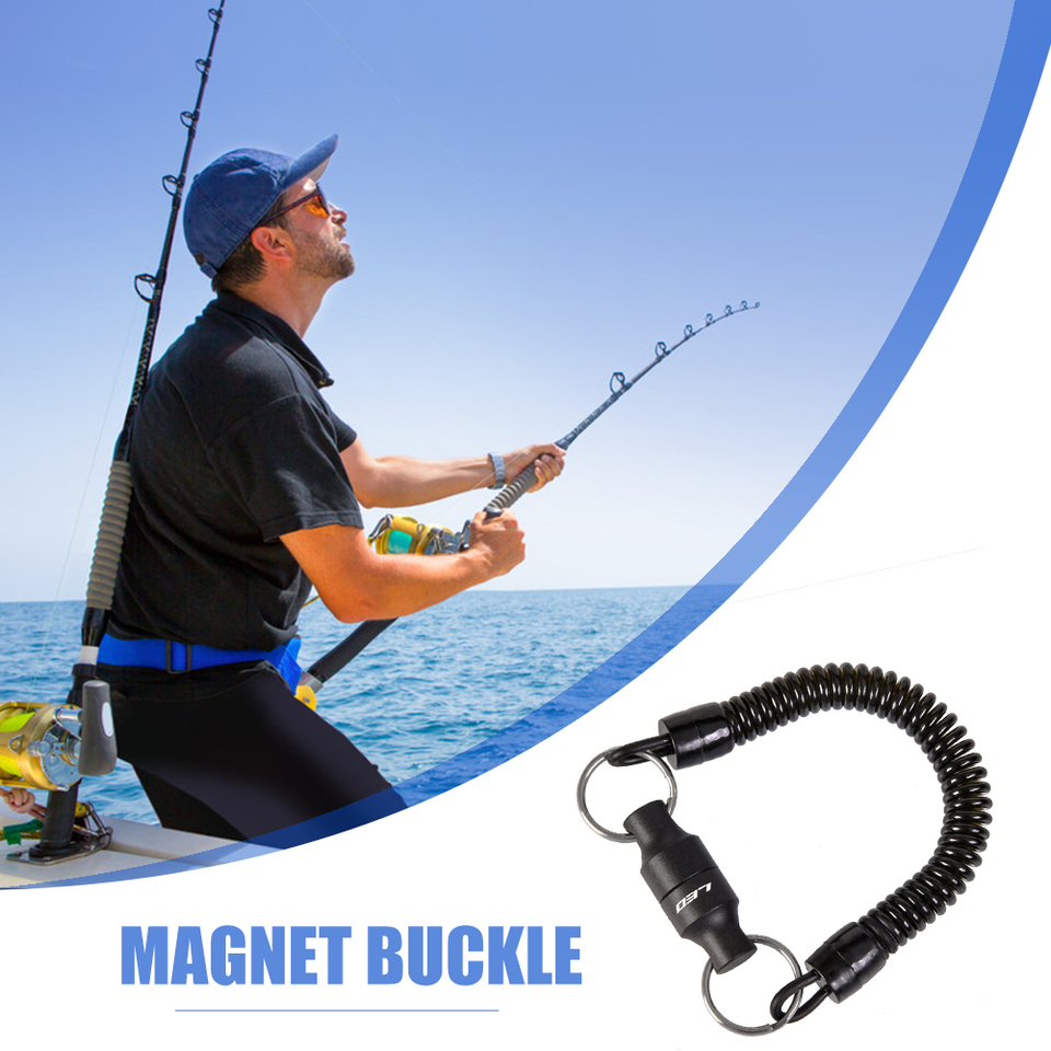 Fly Fishing Magnetic Net Release Holder Magnetic Clip Fly Fishing Tackle