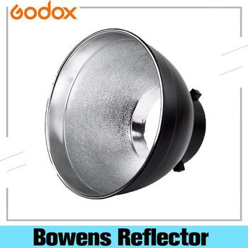 Godox Bowens reflektor Studio standardowy reflektor montażowy Bowens na błyskanie studyjne światło stroboskopowe tanie i dobre opinie CN (pochodzenie) Godox Bowens Reflector ROUND 150g