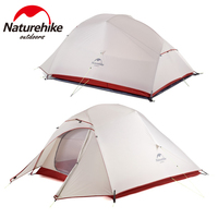 Naturehike Cloud Up Series Updated Version 1 2 3 Person Ultralight Tent 20D Nylon Tent Outdoor Camping Hiking Tent
