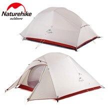 Naturehike Cloud Up seria klasyczna i zaktualizowana wersja 1 2 3 osoba Ultralight namiot 20D Nylon namiot Outdoor Camping namiot turystyczny