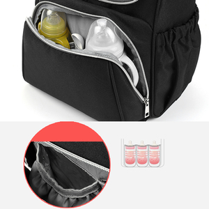 Image 4 - New mama diaper bag maternity baby bags for mom mommy backpack stroller organizer nursing mother changing waterproof nappy bag