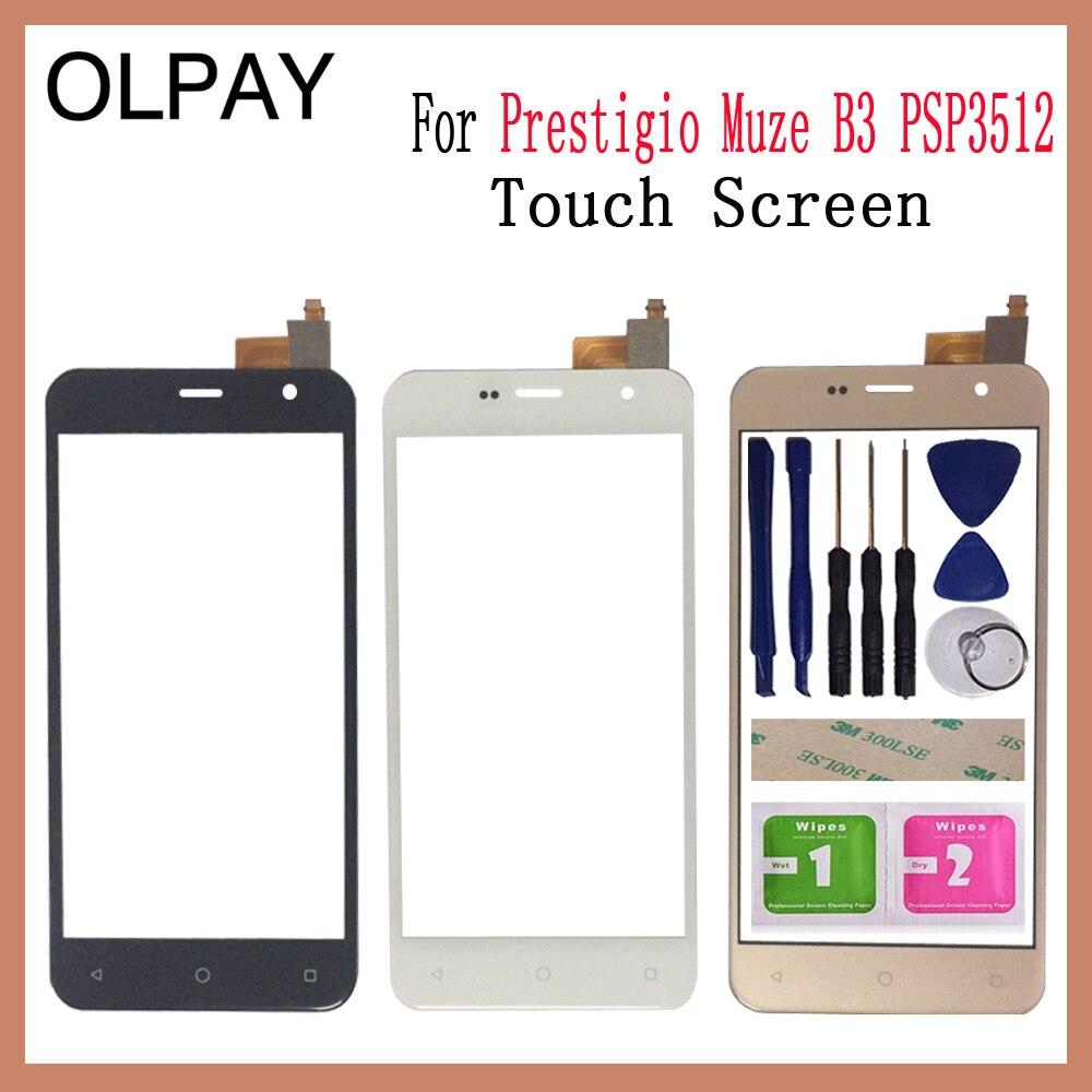 Mobile Phone Touch Screen Digitizer For Prestigio Muze B3 PSP3512 DUO 5.0'' Inch Touch Glass Sensor Repair Parts