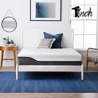 1inchome 10inch mattress high quality latex hybrid mattress christmas gift memory foam mattress thic warm for bedroom furniture