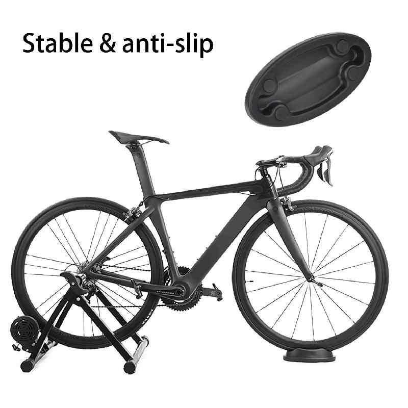 Bike//Bicycle// Front Wheel Pad Support Fixed Rack Block Indoor Trainer Tool US!