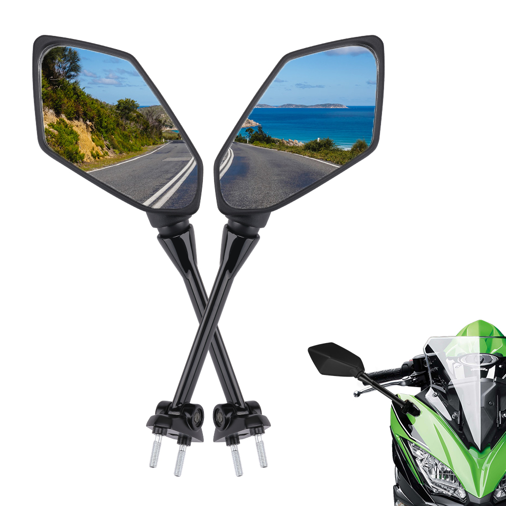 Motorcycle Mirror rearview motorcycle side mirrors For Kawasaki Ninja 650R 2009 2010 ER6F 400R Z1000SX 2011 2012 2013 2014 2015