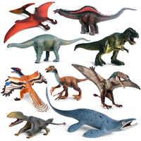 Oenux Simulation Jurassic Dinosaur Figures Toy Dino Park Carnotaurus Pterosaur Tyrannosaurus Model Collection Toy Kids Gift
