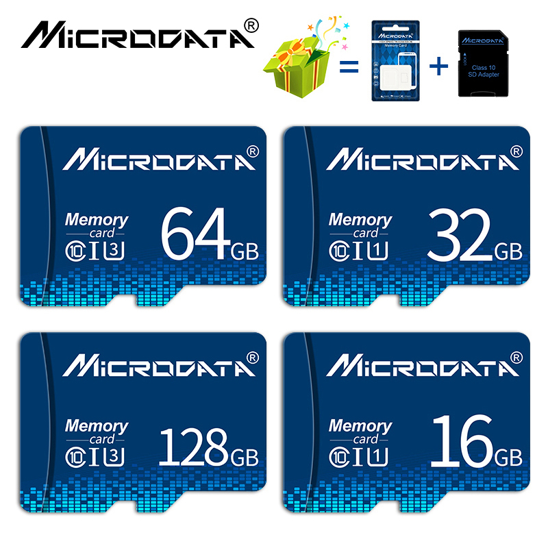 Class10 32 Гб микро sd карты микро sd 8 Гб оперативной памяти, 16 Гб встроенной памяти, 64 ГБ 128 ГБ, карта памяти, флэш-карты cartao de memoria для смартфонов/пла...