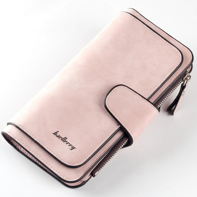 Famous Brand Luxury Wallets Women Long Leather Wallet Female Clutch Purse Women Wallet Ladies Portefeuille Femme WWS046
