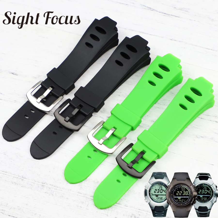 Luxury Rubber Watch Band For SUUNTO OBSERVER St Watch Wrist Strap SUUNTO OBSERVER Tt Watchband SUUNTO OBS/OBSERVER Sr Band New