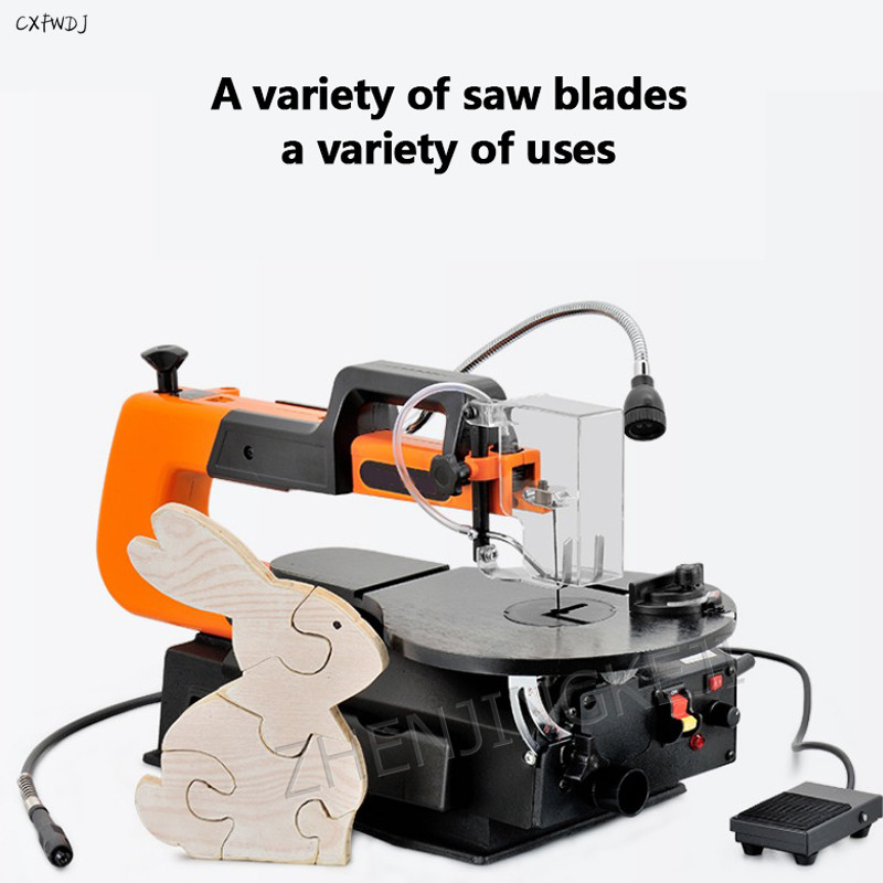 Lahua Saw Wire Saw Machine Desktop Speed Curve Saw Woodworking Table Saw Reciprocating Saw Wire Saw Electric DIY Modeling