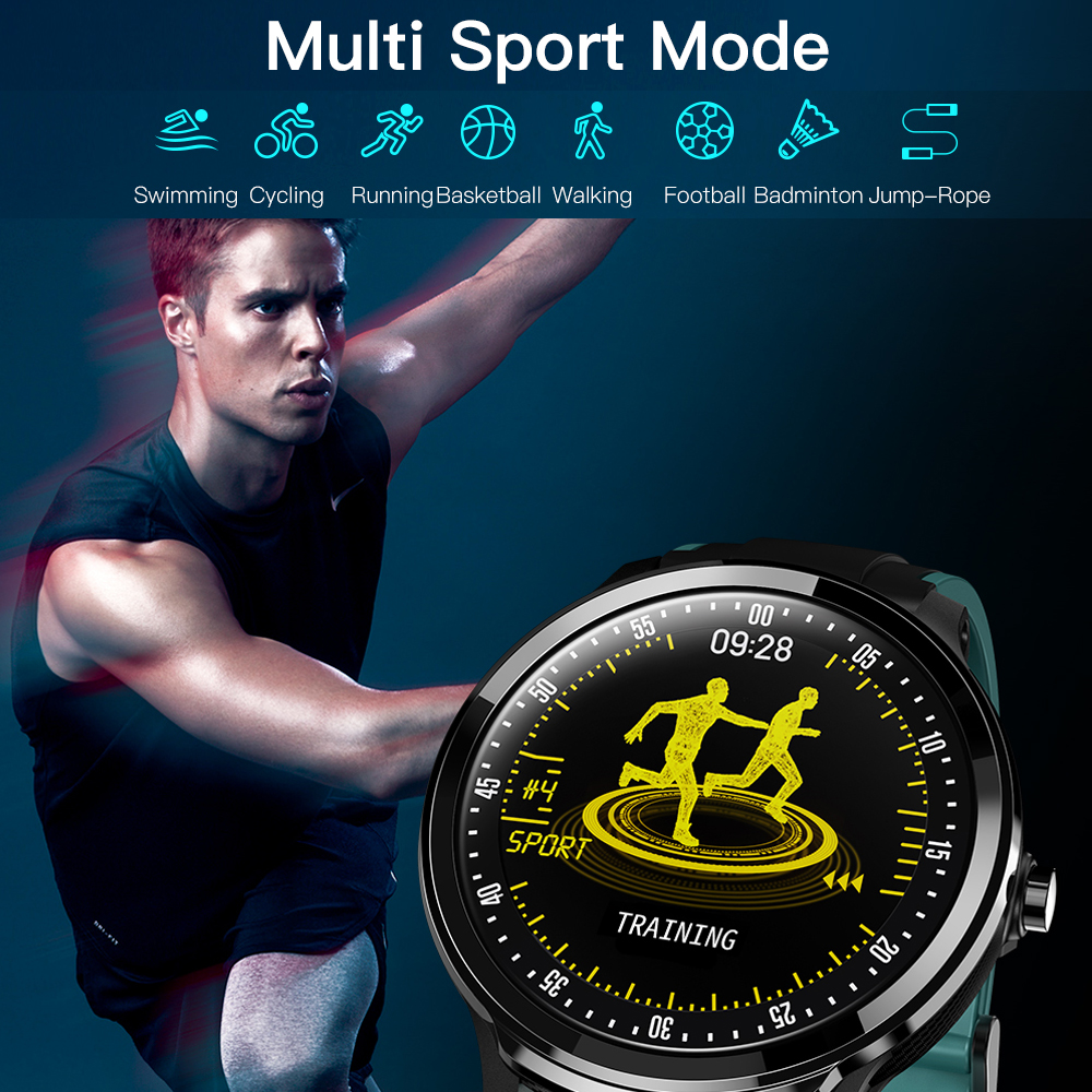 15 Days Long Battery Fashion Smart Watch Men SN80 Heart Rate Blood Pressure Monitor IP68 Waterproof Sport Fitness Smartwatch in Smart Watches from Consumer Electronics