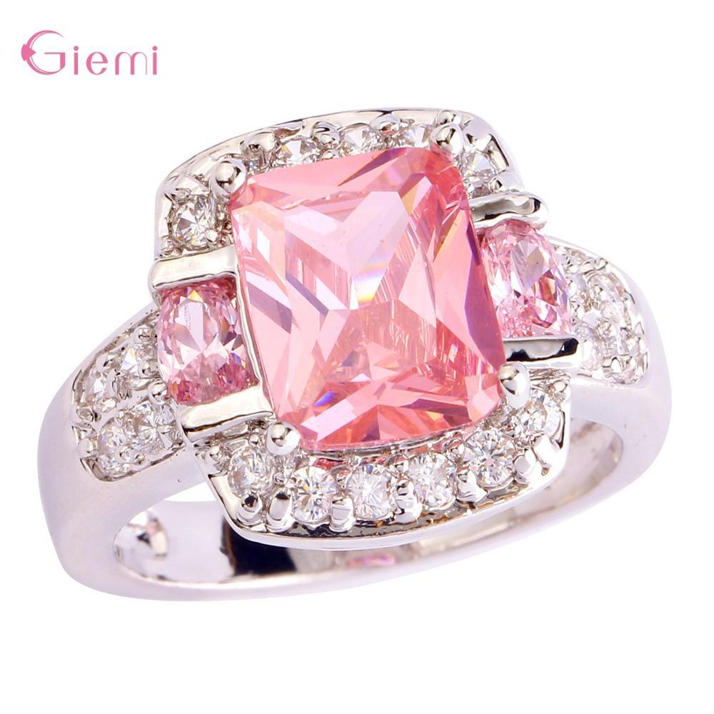 Charmant Cherry Blossom Fleur Opale Collier Pendentif Sakura Fashion Jewelry
