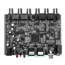 Modulo DAC de canal 5,1 AC-3 PCM óptico Digital DTS RCA estéreo HiFi Audio teatro decodificador decodificación de amplificador de la Junta