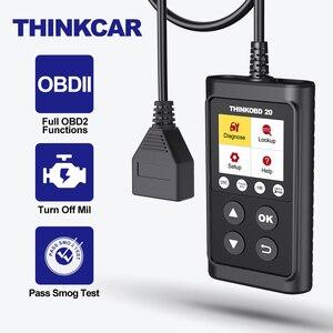 Image 1 - THINKOBD 20 Scanner de voiture, outil de Diagnostic automatique, lecteur de Code, voyant de vérification du moteur, recherche DTC, flux de données en direct, durée de vie gratuite
