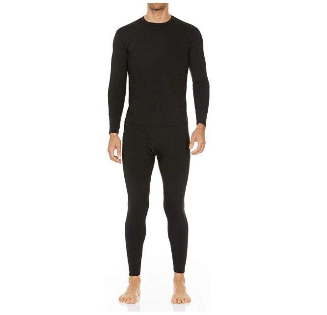 Tights Wool Underwear Set Thermal Base Layer Men/'s /& Women Top Bottom Ski Shirt