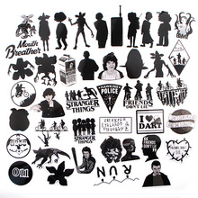 42pcs/lot Stranger Things Creative Sticker for Paper Notebook Adhesive Tape Car Luggage Diy Decoration Graffiti Stickers AT2950