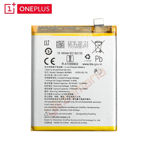 Image 3 - ONEPLUS Original Phone Battery For OnePlus 6T A6010 BLP685 3610/3700mAh High Quality Replacement Li ion Batteries Free Tools