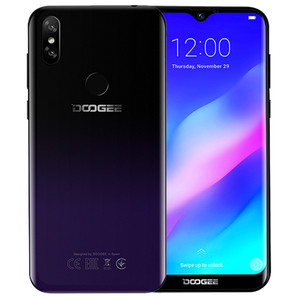 DOOGEE Y8 Plus 3GB 32GB 4000mAh Android 9.0 Smartphone MTK6761 4G DD LTE 13.0MP 6.21inch 19:9 Waterdrop Screen Mobile Phone