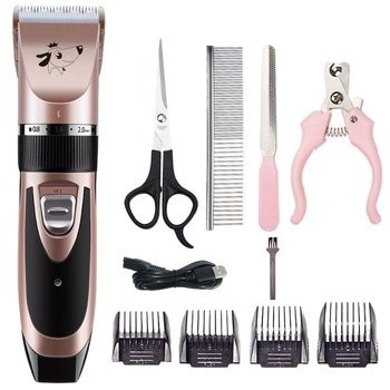 1Set Low Noise Dog Hair Trimmer Professional Pet Hairdressers Tool Dog Grooming Fur Clipper For Pet Hair Clipper Pet Supplies