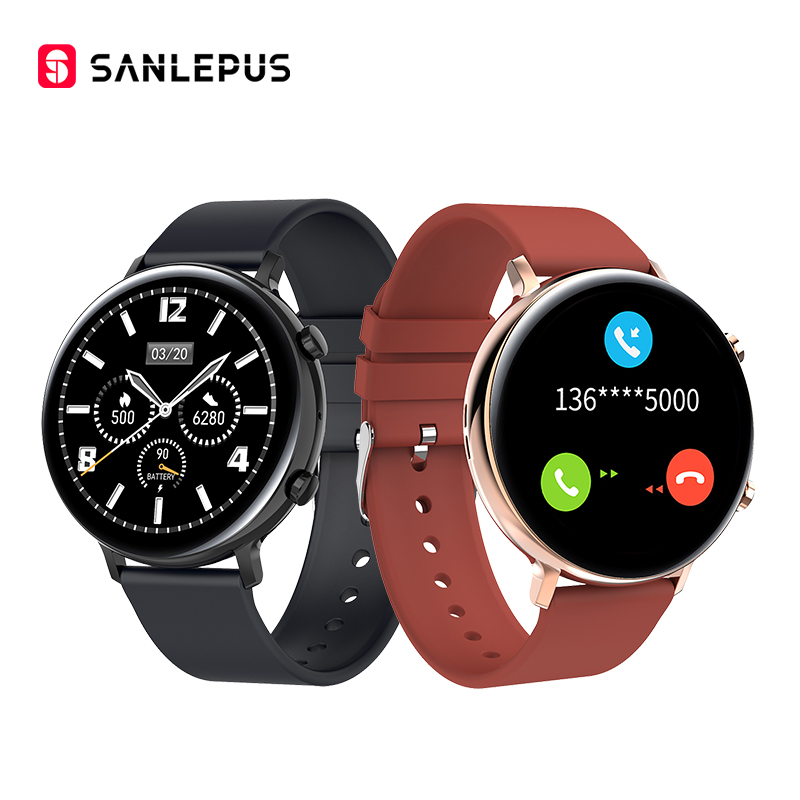 SANLEPUS ECG PPG Smart Watch With Bluetooth Calls Smartwatch Men Women Waterproof Heart Rate Blood Pressure Blood Oxygen Monitor