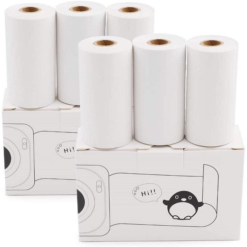 1 рулон карманной мини-фотобумаги для бумаги, переносной Bluetooth POS кассовый аппарат, термобумага, 57 мм X 30 мм