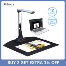 Aibecy A3 Scanner BK52 Book Scanner Photo Scanner Document Scanner Capture 10Mega-pixels USB 2.0 High Speed Documentation Camera