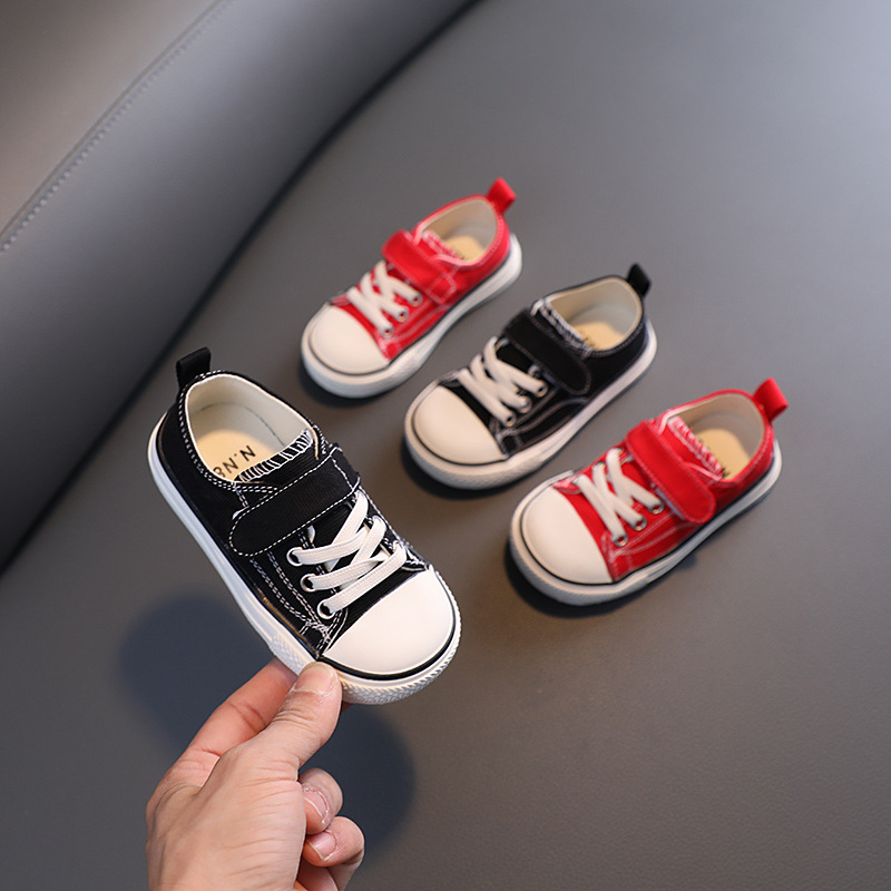 Spring and Summer Children's Casual Canvas Shoes Baby Soft Bottom Shoes for Children 1-3 Years Old Shoes  Toddler Shoes