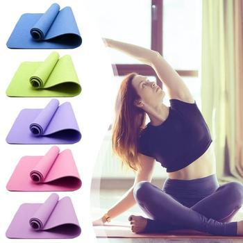 EVA Yoga Mats Anti-slip Blanket PVC Gymnastic Sport Health Lose Weight Fitness Exercise Pad Women Sport Yoga Mat цена 2017