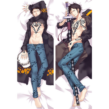 Japanese Anime ONE PIECE Trafalgar Law Cosplay Body Pillow Case Anime Manga Dakimakura Cushion Cover Male Otaku Hug Body Gift nitro super sonico magician ver dakimakura hug pillow