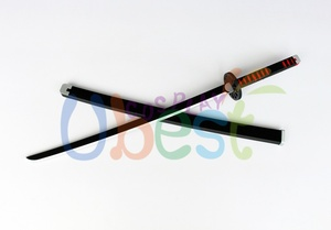 Image 4 - Kamado Tanjiro Prop Cosplay Replica Sword Demon Slayer Kimetsu no Yaiba