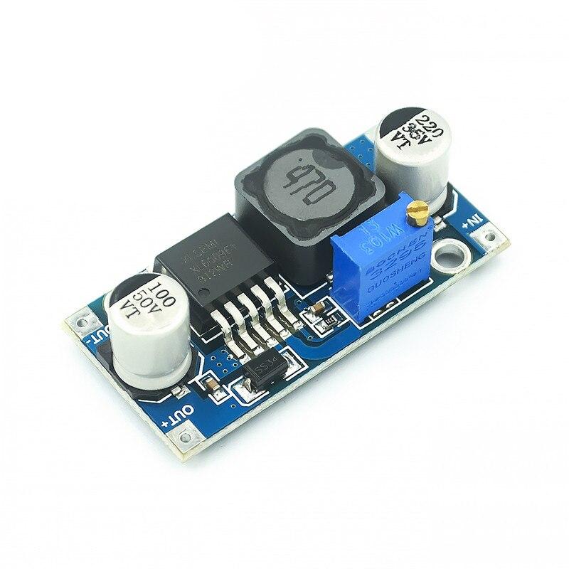 1pcsdc-dc módulo de fonte de alimentação xl6009 pode aumentar o módulo super lm2577 DC-DC impulsionador step-up módulo