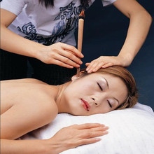 50 PCS Natural Ear Candling Aromatherapy Candles  Sharpen Hearing Sense Ease Tinnitus And Itch