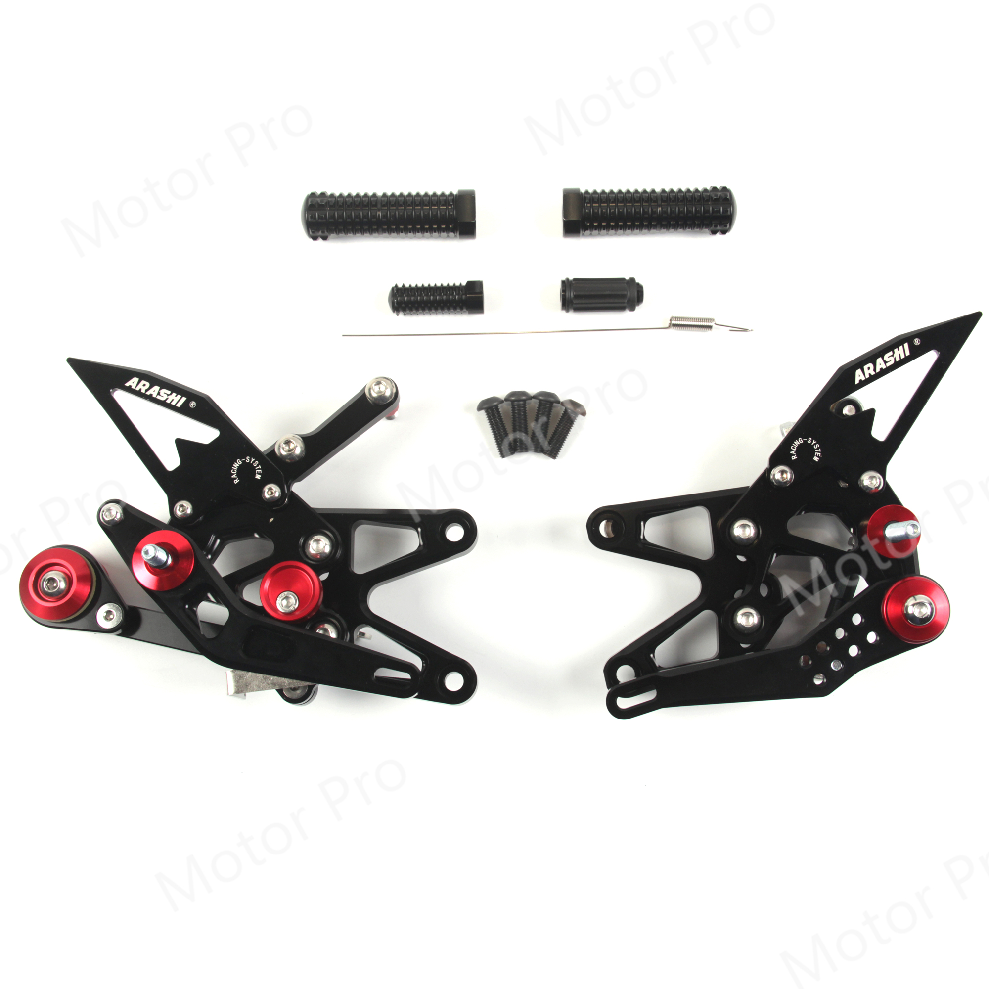 Adjustable Footrests For Triumph DAYTONA 675R 2013 - 2018 Motorcycle Accessories Foot Peg Pedal Rearsets 675 R 2015 2016 2017
