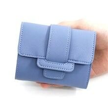 цена на 2019 Women Wallets Small Fashion Brand Leather Female Clutch short Purse Multi-card Bit Luxury Designer Lady Coin Purses