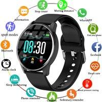 Reloj inteligente deportivo para hombre y mujer, pulsera con control del ritmo cardíaco y de la presión sanguínea, pronóstico del tiempo, para Android Ios, 2021