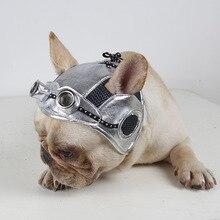 Dog Pilot Black Hat Retro Go Out Ear Silver French Bulldog Dress
