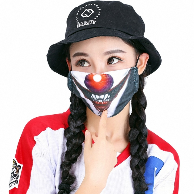Kawaii Mouth Mask Kpop Cute Face Mouth Mask Dust Masks Fashion Anime Cotton Masks Mascarillas Protective Mask 4