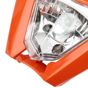 Image 5 - Motorcycle Universal Headlamp Lights Headlight For KTM EXC EXCF SXF XC XCW XCF XCFW 125 150 250 350 450 530 Dirt Bike Supermoto