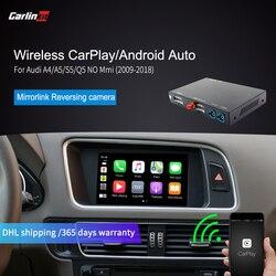 Carlinkit Wireless CarPlay for Audi A4 A5 S5 Q5 Withount MMI muItimedia interface CarPlay & Android auto Retrofit Kit Airplay