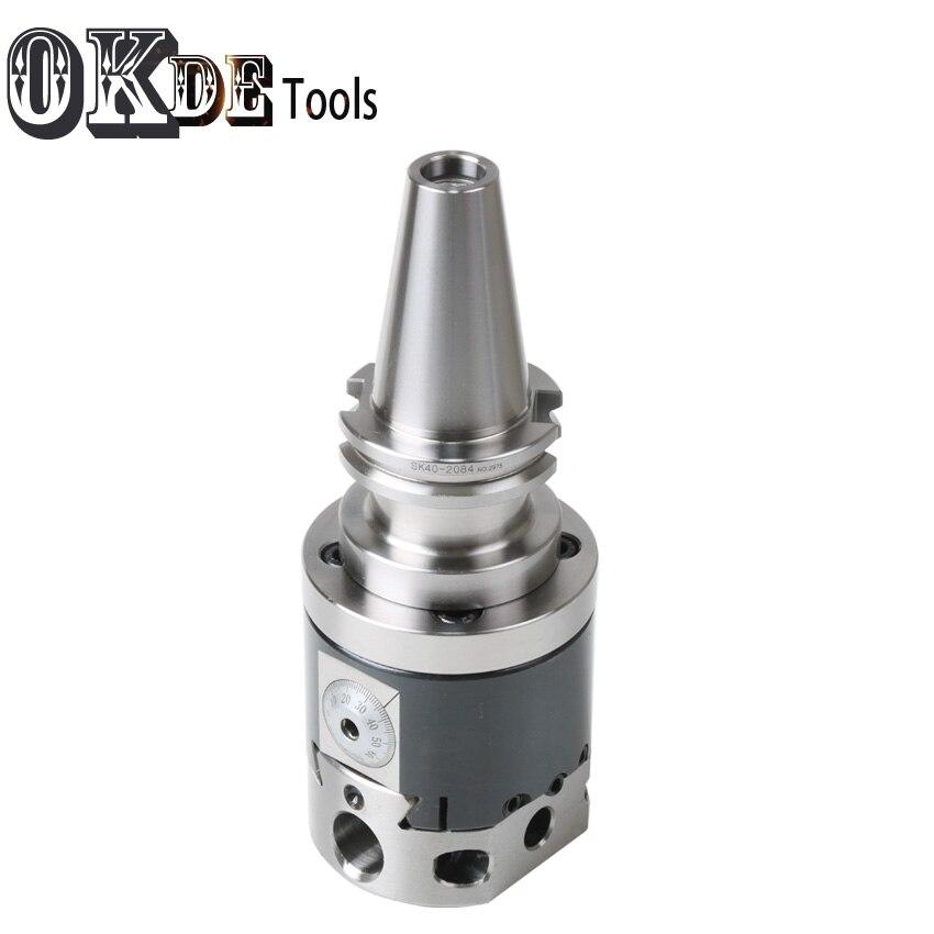 Hoge precisie SK40 NBH2084 CNC 0.01 run nout M16 micro tool met BT schacht NBH2084 systeem saai heads met 8 stuks boring bar - 3