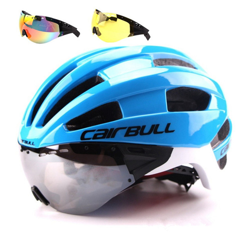 CAIRBULL Bike Helmet Lenses Bicycle Road Ultralight Aero EPS with Windproof 235g Casco-Ciclismo title=